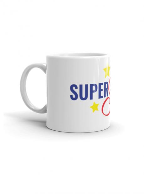 SuperShero MUG side