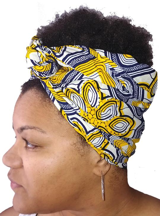 Lemonade Headwrap Side1